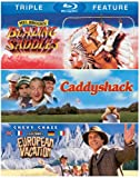 Blazing Saddles / Caddyshack / National Lampoons European Vacation (Triple Feature) [Blu-ray]