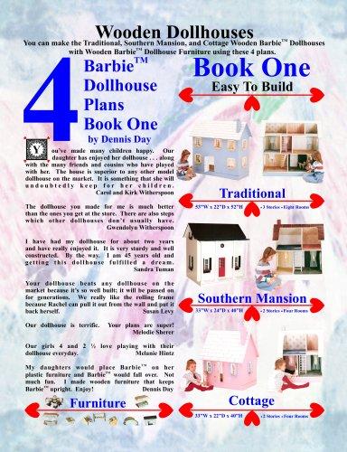 Barbie Dollhouse Plans Book One