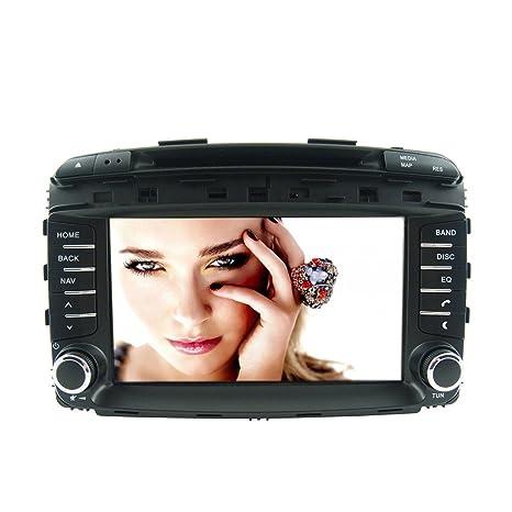 Rungrace Systeme Windows 8-Pouce Lecteur DVD de Tableau de Bord en Automobile avec Bluetooth,GPS,RDS,IPOD,CAN BUS,ATV pour Kia Sorento