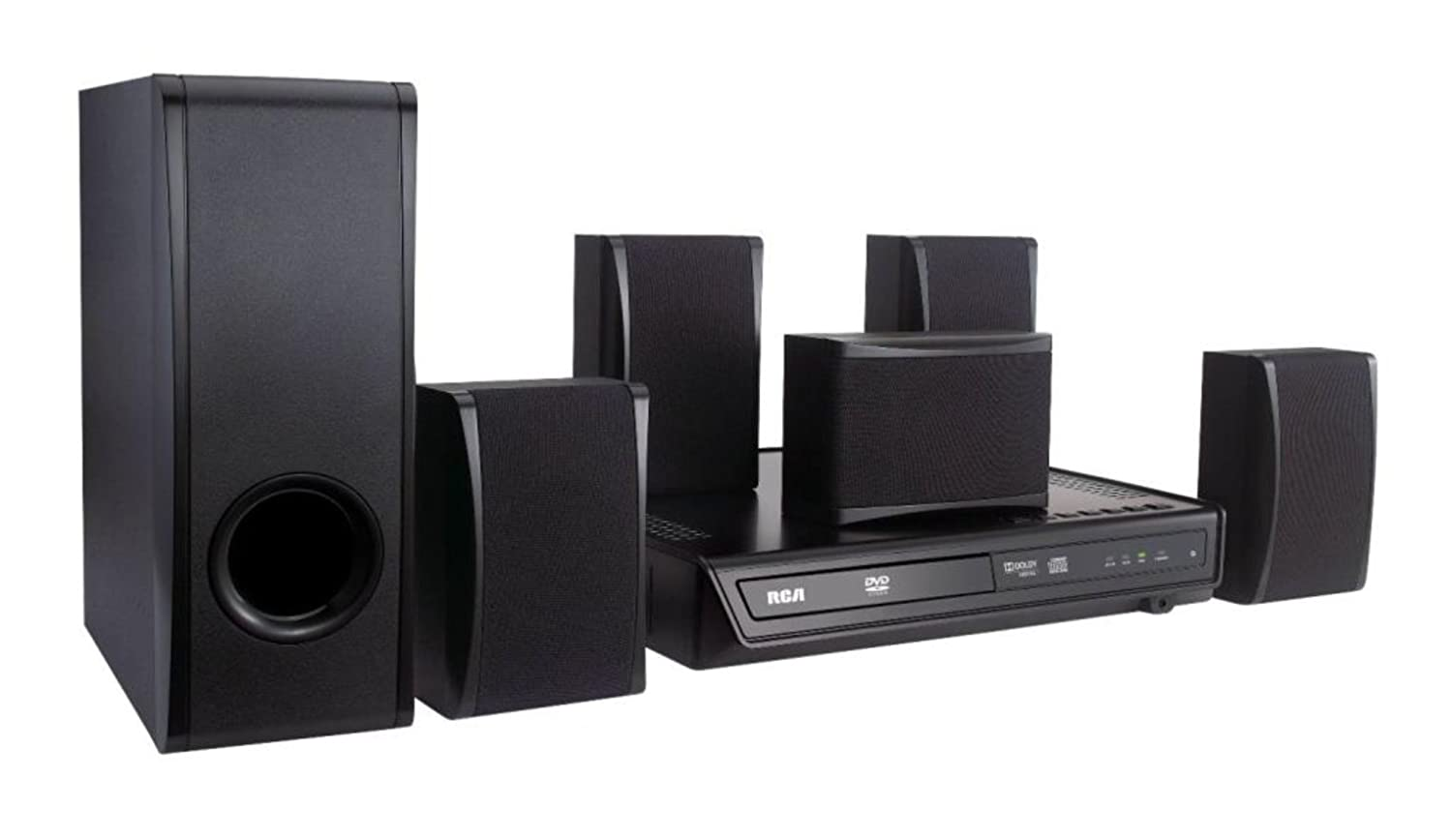 rca rtd396 dvd home theater system electronics sale nhattuanban1938. Black Bedroom Furniture Sets. Home Design Ideas
