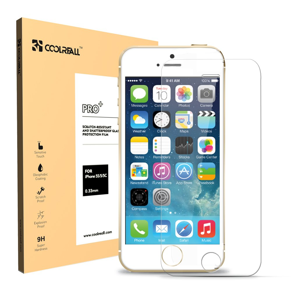 Coolreall Premium Tempered Glass Screen Protector