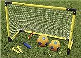 サッカーセット 【屋外 サッカー サッカーゲーム 折りたたみ式サッカーゴール 組み立て簡単 片付け楽ちん 外遊び サッカーゲームセット 公園 すぐ遊べる】