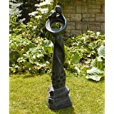 Large Contemporary Sculptures - Loving Twist Modern Garden Statue