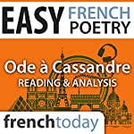 Ode à Cassandre (Easy French Poetry): Reading & Analysis | Pierre Ronsard