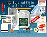 Emergency Survival Kit in a Sardine Can - 2 Pack
