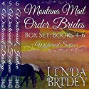Montana Mail Order Bride Box Set, Books 4-6 Audiobook by Linda Bridey Narrated by J. Scott Bennett