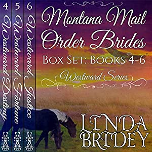 Montana Mail Order Bride Box Set, Books 4-6 Audiobook