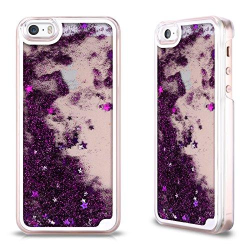 etui-coque-pourpre-transparent-et-liquide-pour-apple-iphone-5-5s
