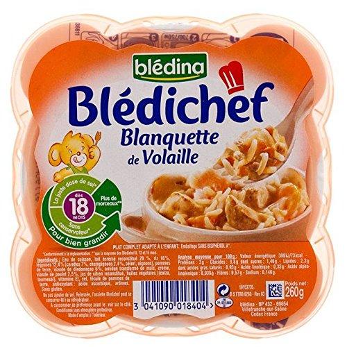 Blédina chef Blanquette de dinde et de poulet (18 mois) 260g