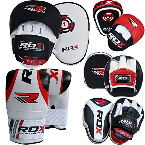 RDX-Boxing-Focus-Punch-Mitts-MMA-Training-Punching-Hook-and-Jab-Strike-Pads-Traget-With-Bag-Gloves