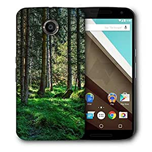 Snoogg Desnse Forest Printed Protective Phone Back Case Cover For LG Google Nexus 6