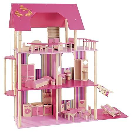 howa - Maison de poupée avec un mobilier de 22 pièces 70102