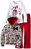 Young Hearts Girls 2-6X 3 Piece Diva Pant Set