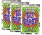 Pipedream Products Bj Blast Oral Sex Candy Green Apple Flavor Pack 3