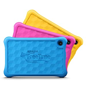 Fire 7 Kids Edition Tablet, 7 Display, 16 GB, Yellow Kid-Proof Case (Color: Yellow, Tamaño: 1 EA)