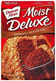Duncan Hines Signature German Chocolate Cake Mix, 18.25-Ounce Boxes (Pack of 6)