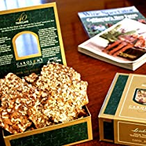 Gourmet English Toffee Sampler Gift Box - Gourmet Toffee Corporate Gift Box- Gourmet Toffee Christmas Gift Box - Gourmet Toffee Hostess Gift Box