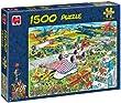 Jan van Haasteren - The Airshow 1500 Piece Jigsaw Puzzle
