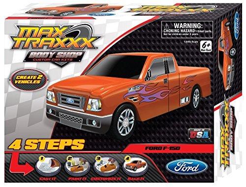 Max Traxxx Award Winning Body Shop PerfectCast Ford F-150 Truck Craft Kit