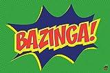 The Big Bang Theory Poster Bazinga! - Poster Großformat (91,5cm x 61cm) + 1 Überraschungsposter gratis!
