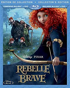 Rebelle: Édition Collector / Brave: Collector's Edition (3-Disc Bilingual Combo Pack) [Blu-ray + DVD]