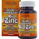 Nature's Plus - Animal Parade KidZinc Lozenges Tangerine - 90 Lozenges