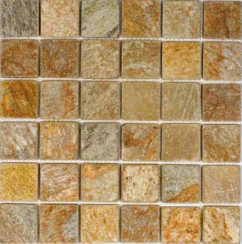 Epoch Tile SR2X2 2x2 Sunny Ray Tumbled Slate