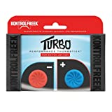 KontrolFreek Turbo Thumb Grips for Nintendo Switch Joy-Con (Red/Blue)