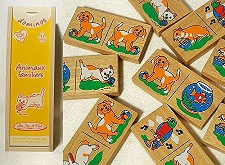 Les Jeux de Paul - Dominos animaux familiers - 1203