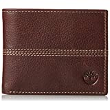Timberland Men's Sportz Quad Bifold Wallet, Brown, One Size
