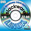 Slackware 14 Linux DVD 32-bit Full Installation Includes Complimentary UNIX Academy Evaluation Exam