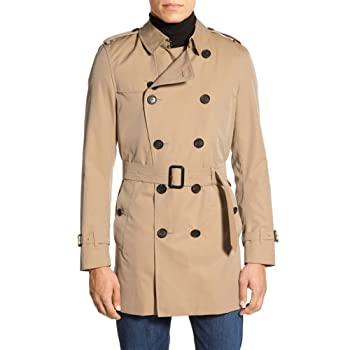 BURBERRY Kensington Double Breasted Trench Coat [並行輸入品]