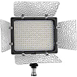 Bestlight® W300 LED Photo Studio 6000K Barndoor Light Continuous Output Lighting Panel Video Light With Filters...