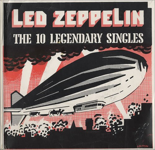 Led Zeppelin - The 10 Legendary Singles