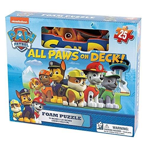 Paw Patrol - 6028790 - Puzzle Mousse 25 Pièces - La Pat' Patrouille