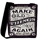 Snoogg Make new things Womens Carry Around Cross Body Tote Handbag Sling Bags