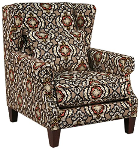 Valentia Home Brenda Occasional Chair, Lewis/Contrast - 1