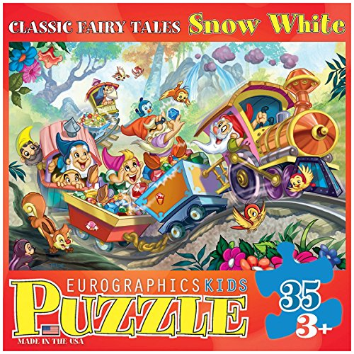EuroGraphics 35-Piece Classicic Fairy Tales Snow White Puzzle