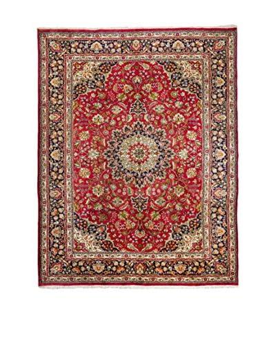 QURAMA tapijt Perzische Tabriz Red / Blue / Veelkleurige