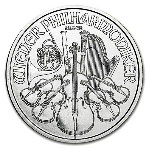 2016年製 ウィーン銀貨 1オンス (38mm クリアケース入り) 31.1g純銀
