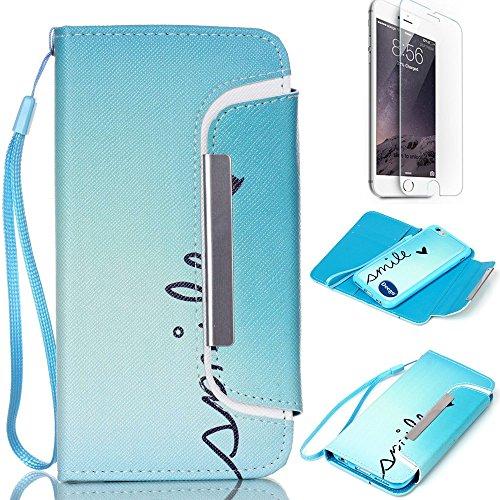 iPhone 6 Plus 5.5 inch Wallet Case, Nancy