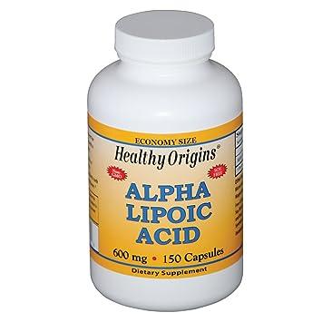 Healthy Origins Alpha Lipoic Acid 600 MG, 150 Count