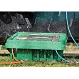 Large Green Weatherproof Indoor Outdoor Electrical Cord Connection Enclosure Box Sockit Box