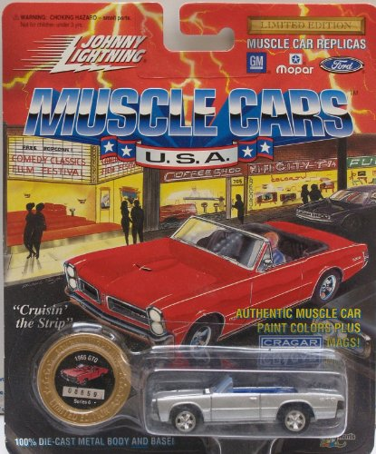 Johnny Lightning Muscle Cars Silver 1965 Gto Series 6 1994