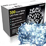 iBoutique 300 Extra Bright LED Fairy Lights for Christmas / Gardens, Cool White