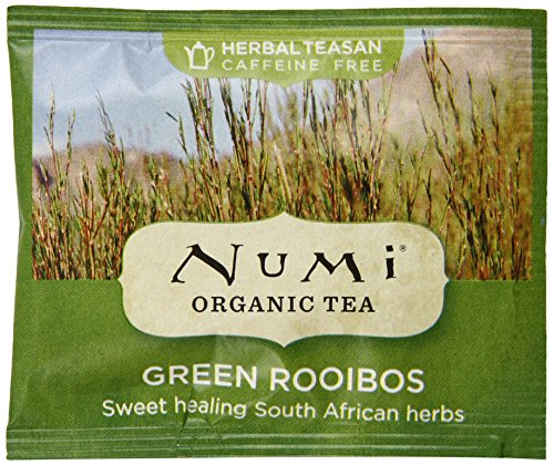 Numi Green Rooibos, 100 Count
