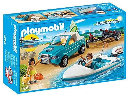 Prezzo sottocosto Pubblicità di Cartoonito e Rai YoYo: Playmobil 6864 - Surfisti con Pick Up e Motoscafo