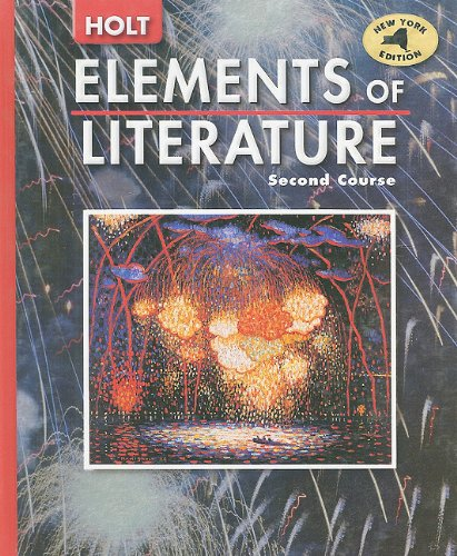 Holt Elements of Literature New York: Student Edition Grade 8 2005