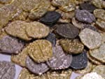Pirate Treasure Coins - 30 Gold and S...