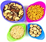 Silicone Collapsible Measuring Cups Set By Nature's Kitchen